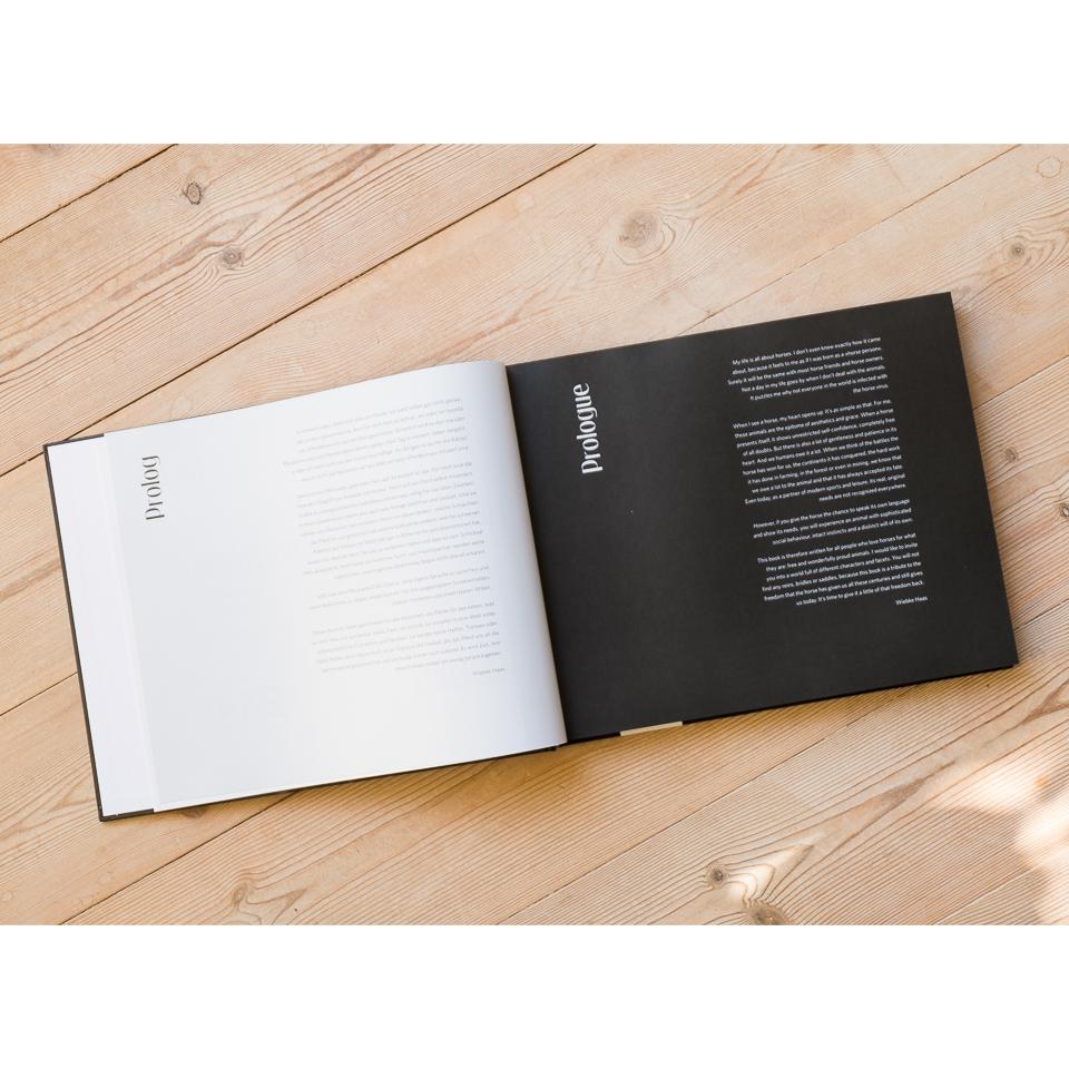 Jedes Kapitel wird von einem Text begleitet.